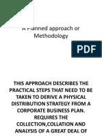 Logistics Ppt - Methodology