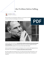 How to Sell the Problem Before Selling the Solution.pdf