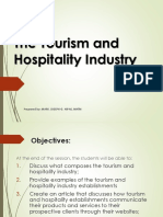 LESSON 1 the Tourism and Hospitality Industry