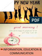 Information, Education & Communication Ppt