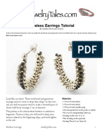 Wireless Earrings Tutorial