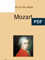 Music of the Week Mozart