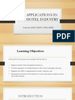 Lesson 5 Mis Applications in the Hotel Industry