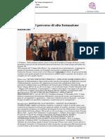 Presentato il percorso di alta formazione musicale - Viverepesaro.it, 9 settembre 2019