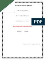 Fases de La Gestion de Proyectos de Software