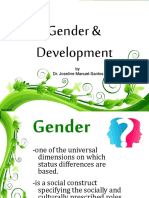 Gender and Development 160306150334