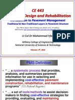 Pavement design and rehabilitation