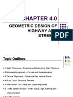Chapter 4.0 Geometric Design of Highway and Streets_sept2016