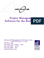 AMS REALTIME Software and Services Catalog 2018
