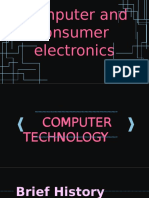Computer and Consumer Elec Ppt