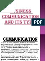Business Communication by Priya