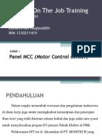 Presentasi OJT M. Haqiyuddin