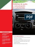 Sistema de audio y comunicación para automoviles