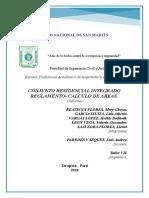 Informe Conjunto Residencial