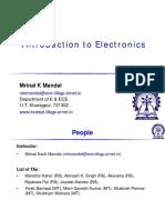 Intro to Electronics P1 2017