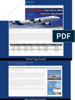 Java, JSP and MySQL Project on Flight Ticket Booking System