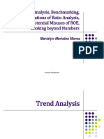 Trend Analysis, Banchmarking Report