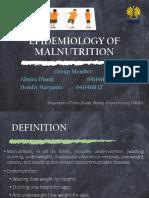 Kel 3. Epidemiology of Malnutrition