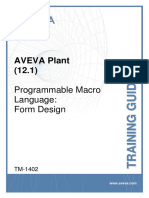 TM-1402 AVEVA Plant (12.1) PML Form Design Rev 3.0