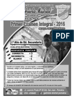 EXAMEN INTEGRADO 2DO SEC - GM
