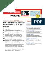 EMC for Medical Devices_ EN_IEC 60601-1-2, 4th Edition - Medical Design Briefs