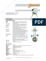 Dp Flow Gauge - Vendor Catalouge