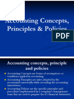 CH.2.1 Accounting Concepts, Principles, Policies