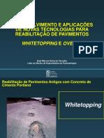 Whitetopping e Overlay