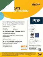 Brc - 2019-Shuaiba Industrial Company (Jafza)