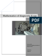 mathematics of diagnostic xray