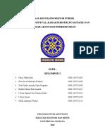 Kerangka Konseptual, Karakteristik Kualitatif, Dan Standar Akuntansi Pemerintahan