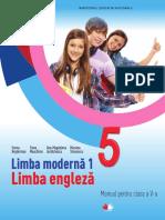 Engleza Clasa a V-a, Editura Litera