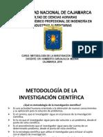 Curso de Metodología de La Investigación Científica