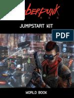 CR3000 Cyberpunk Red - Jumpstart Worldbook [2019]