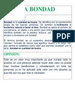 LA BONDAD.docx
