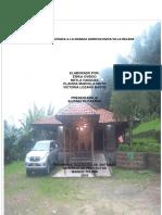 Estructura Del Informe Experiencia Pedagogica
