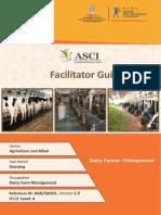 Dairy Farmer or Entrepreneur