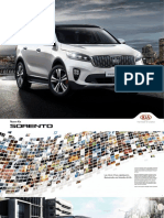 Brochure Kia Sorento Sea Automobili