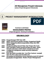 01. Project Management Introduction