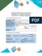 Activities Guide and Evaluation Rubric - Task 1 - Collaborative Work 1.en.es