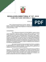 Resolucion Comite de Evaluacion