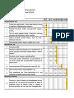 plan de trabajo estudio actuarial