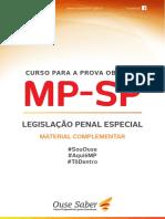 Material Complementar 3 - Legislação Penal Especial
