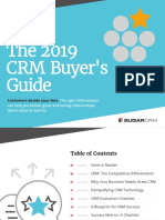 CRM Buyers Guide 2019
