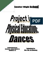 PE Dances