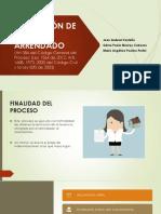 Diapositivas Restitución de Inmueble Arrendado