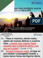 El Ministerio Del Espíritu Santo en La Oración