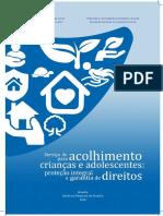 3. Caderno Curso Serviço de Acolhimento Para Crianças e Adolescentes Proteção Integral e Garantia de Direitos