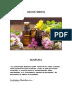 Aromaterapia - Modulo 2