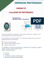PERDIDAS DE PRETENSADO